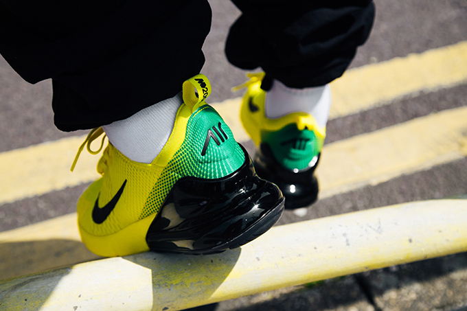 05b932876635 Summer Soccer Styles  On-Foot with the Nike Air Max 270 iD Mercurial ...