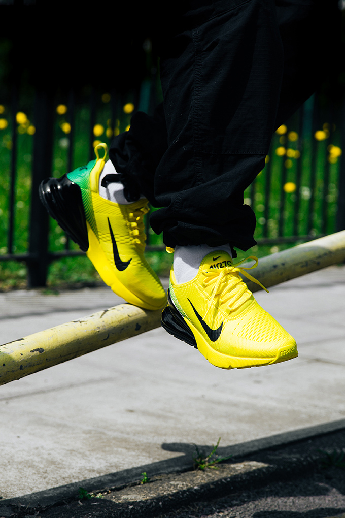 Summer Soccer Styles: On Foot with the Nike Air Max 270 iD