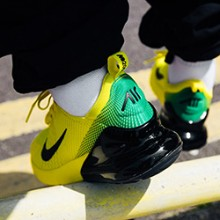brand new ff7f7 558b2 Summer Soccer Styles: On-Foot with the Nike Air Max 270 iD Mercurial