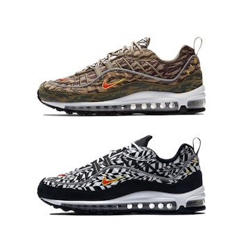 680894c24515d9 Nike Air Max 98 - AOP PACK - AVAILABLE NOW - The Drop Date