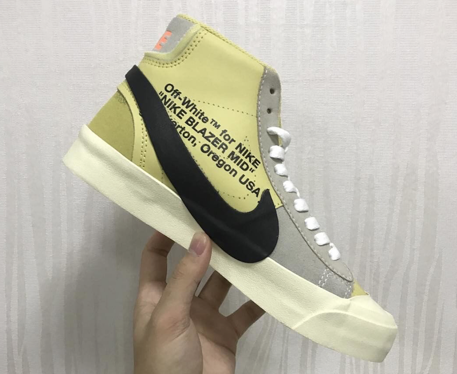 8057ae6590b Virgil Abloh Heats up the Summer with the Off-White X Nike Blazer ...