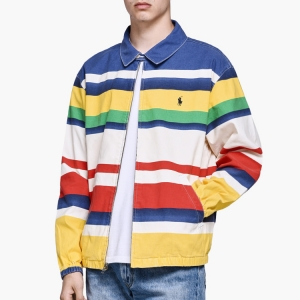 Get on deck with this stripy banger from the POLO RALPH LAUREN CP-93 COLLECTION. Click to shop.