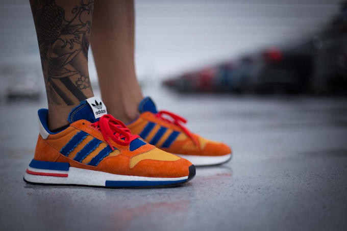 0c8ab1c381b0b The DRAGON BALL Z X ADIDAS ZX500 RM GOKU is rumoured to be COMING SOON.  Stay tuned for updates and if the mood takes you