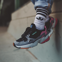 where can i buy buy best place TGWO Showcase the adidas Originals Falcon Core Black/Light ...