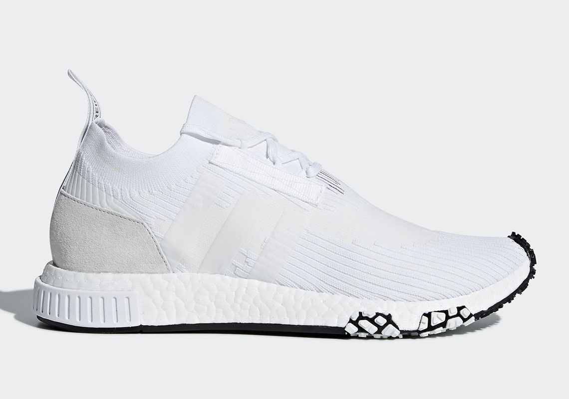 The adidas NMD Racer PK Goes Monochrome The Drop Date