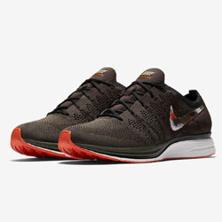 2364542c02ab The Camo Swoosh Lands This Weekend with the Nike Flyknit Trainer Dark Green