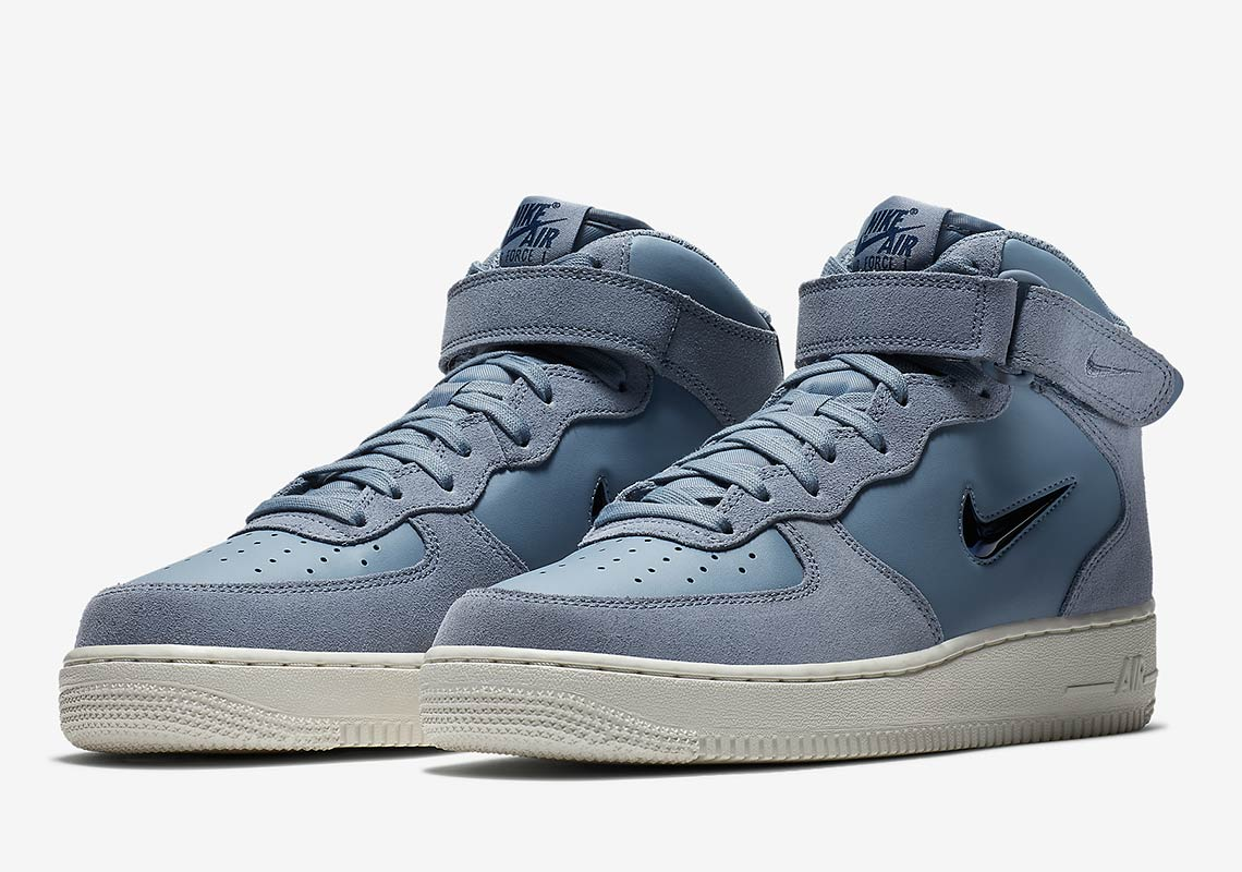 brand new 64016 ee759 air force 1 jewel blue 2. The popular NIKE AIR FORCE 1 MID ...