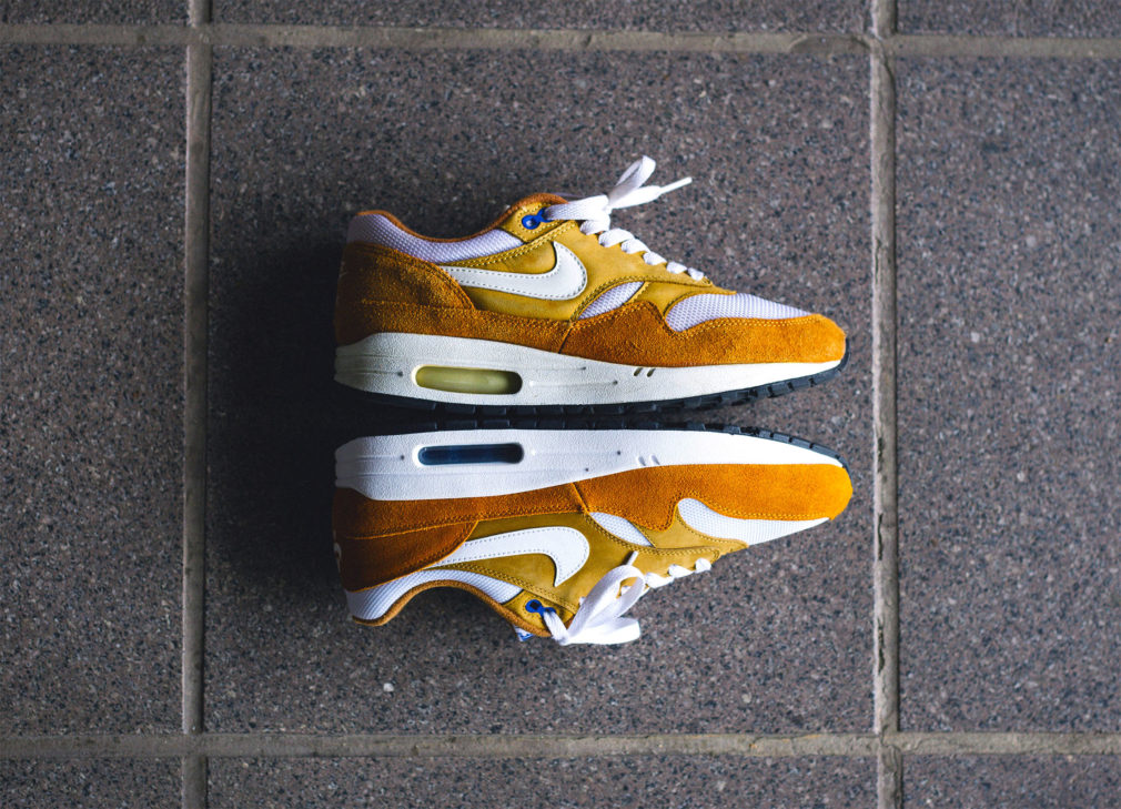 4020e7b32773 Take a Closer Look at the atmos x Nike Air Max 1 Curry - The Drop Date
