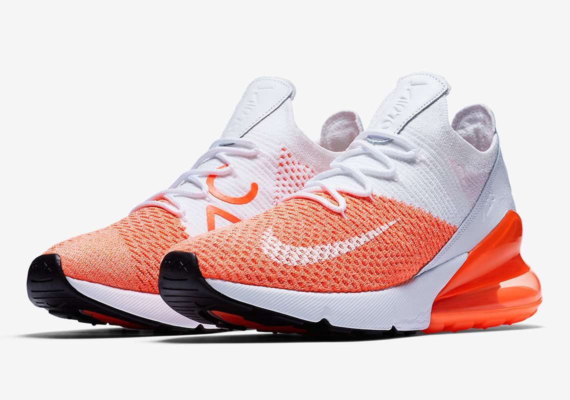 tout neuf 8f616 02f36 Scoop up the Nike Air Max 270 Flyknit Crimson Pulse Today ...