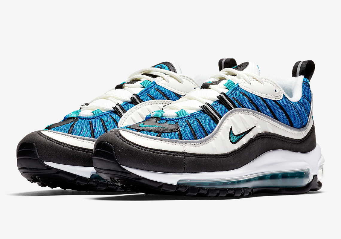 the nike air max 98 blue nebula is incoming the drop date. Black Bedroom Furniture Sets. Home Design Ideas
