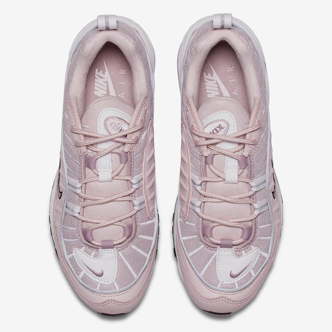 new arrival 94217 d0a97 Pink Leads the Way with the Nike Air Max 98 Barely Rose - The Drop Date