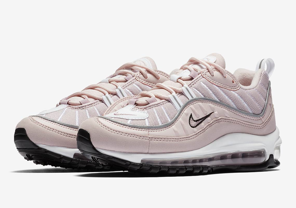 pink leads the way with the nike air max 98 barely rose the drop date. Black Bedroom Furniture Sets. Home Design Ideas