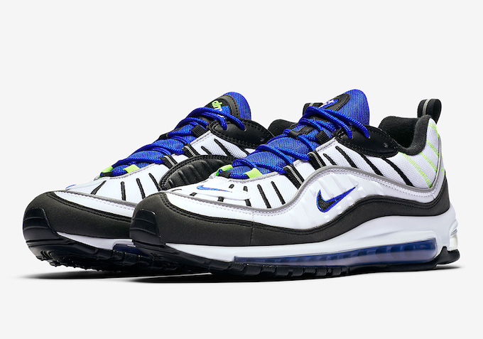727ef247b3 Shake Things Up with the Nike Air Max 98 Racer Blue - The Drop Date