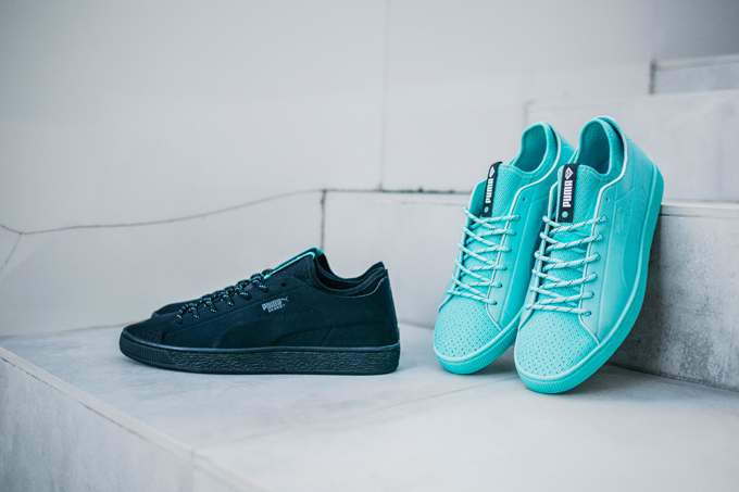 hot sale online 6d7c2 ff13c A Diamond in the Rough: PUMA X Diamond Supply Co Suede ...