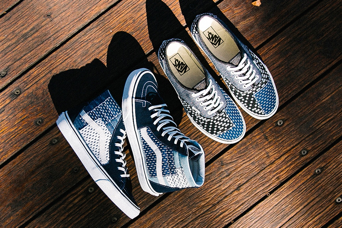 0bb2a615ba Step out in Luxury Fabrication with the Vans Sk8-Hi   Authentic ...