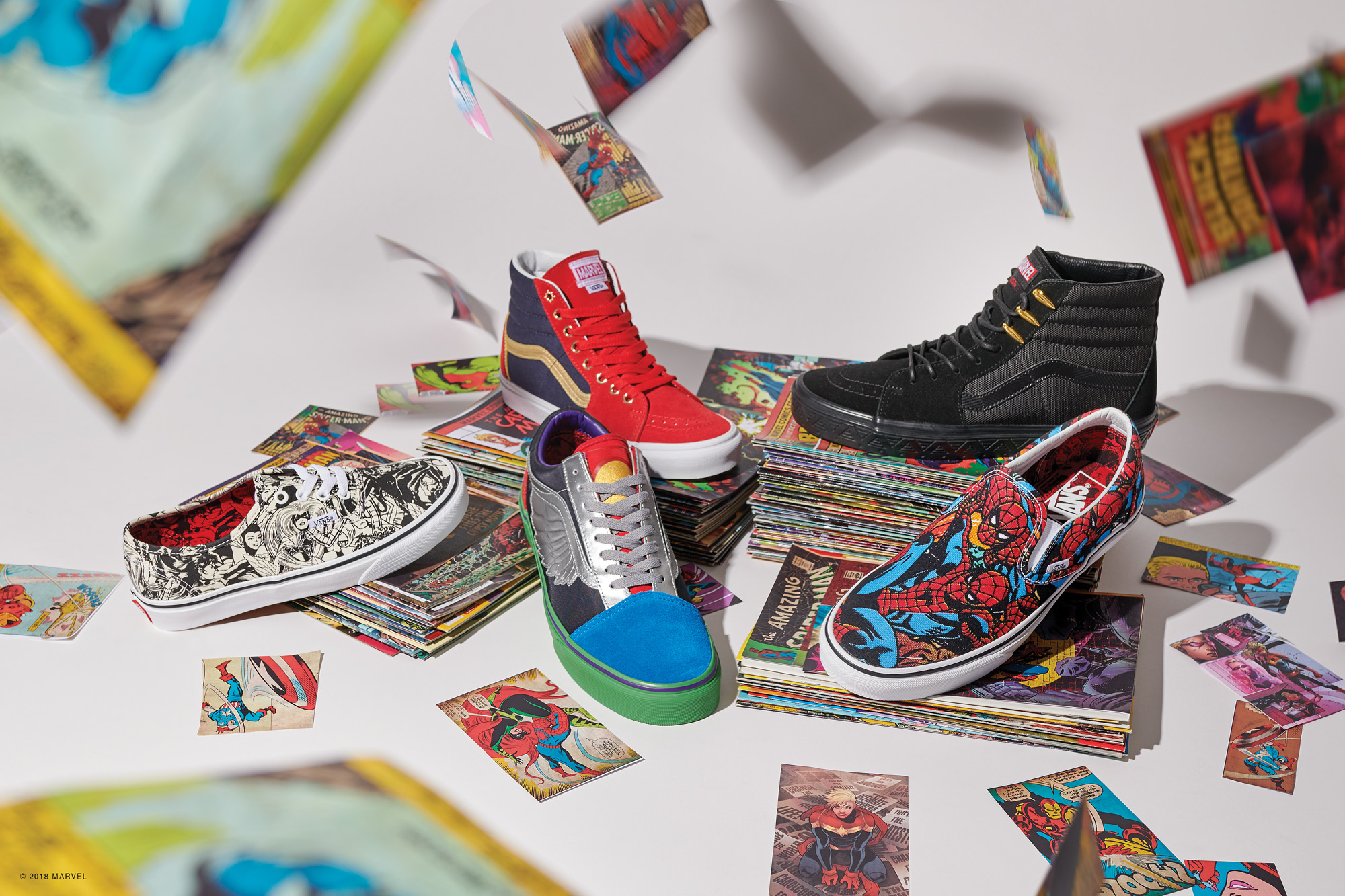 f1de4b9f58fe8f Be a Superhero with the Vans x Marvel Avengers Pack - The Drop Date