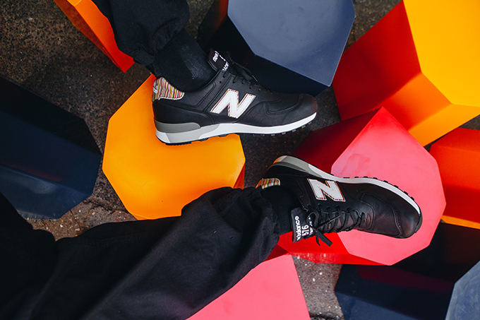 save off 278c7 ebe8a New Balance 576 x Paul Smith: On-Foot Shots - The Drop Date