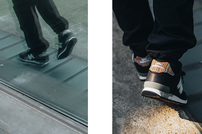 save off 09b94 27b0d New Balance 576 x Paul Smith: On-Foot Shots - The Drop Date