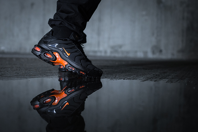 big sale 95d20 2cd15 Nike Air Max Plus TN SE Total Orange: On-Foot Shots - The ...