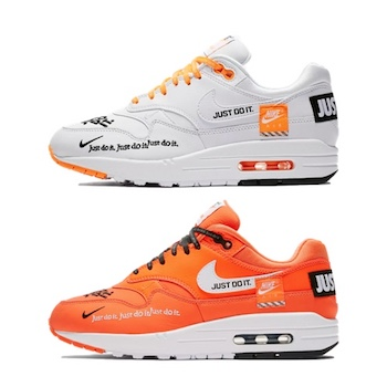 best sneakers online retailer official images Nike WMNS Air Max 1 LX - Just Do It - AVAILABLE NOW - The ...