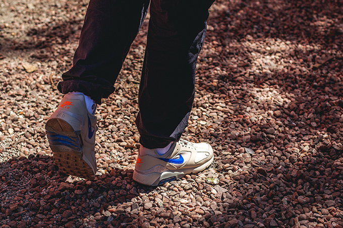 new design arriving the cheapest Visible Flair: On-Foot with the Nike Air Max 180 Desert Sand ...