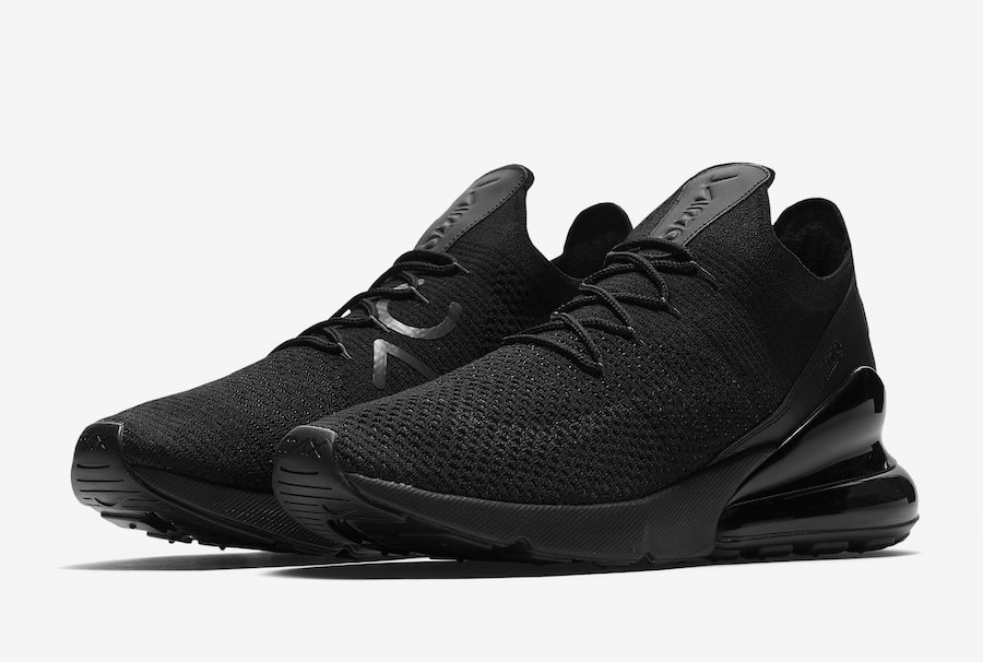 The Nike Air Max 270 Flyknit is Back in Black - The Drop Date e4e159540