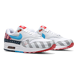 new arrival a7db2 a84b6 Do Not Adjust Your Screens  A First Look at the Nike x Parra Air Max 1