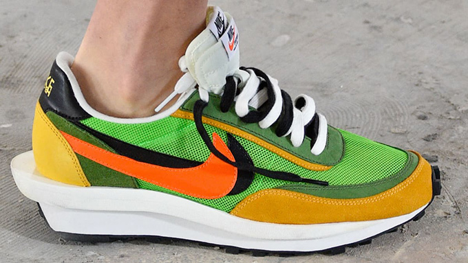 0dfb305c4405 Spotted at Paris Fashion Week  the Sacai x Nike Hybrid Collection ...