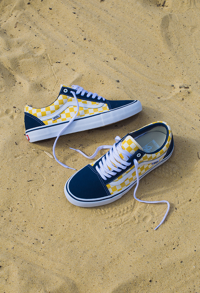 A Closer Look at the Vans Checkerboard Old Skool Pro Dress Blue ... 7f31e1039
