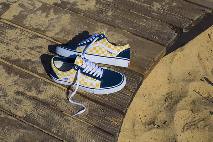 26ff526925e2 A Closer Look at the Vans Checkerboard Old Skool Pro Dress Blue ...