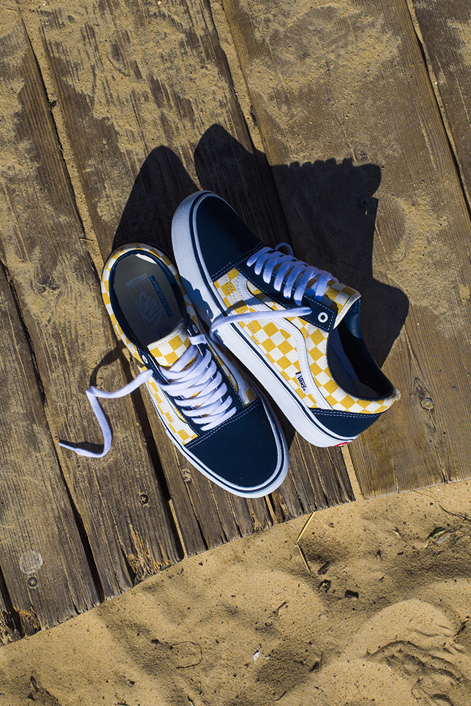 075bc9153676 The VANS CHECKERBOARD OLD SKOOL PRO DRESS BLUE is AVAILABLE NOW: hit the  banner below to pick up a pair over at VANS today.