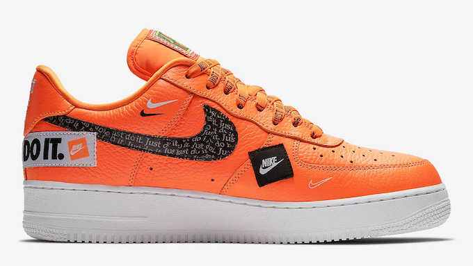ffa8130eef8e Turn Heads with the Nike Air Force 1 Low 07 PRM Just Do It Pack ...