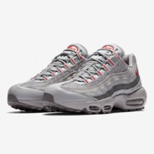 6439c7497da8 The Nike Air Max 95 Silver   Red Steps into the Spotlight