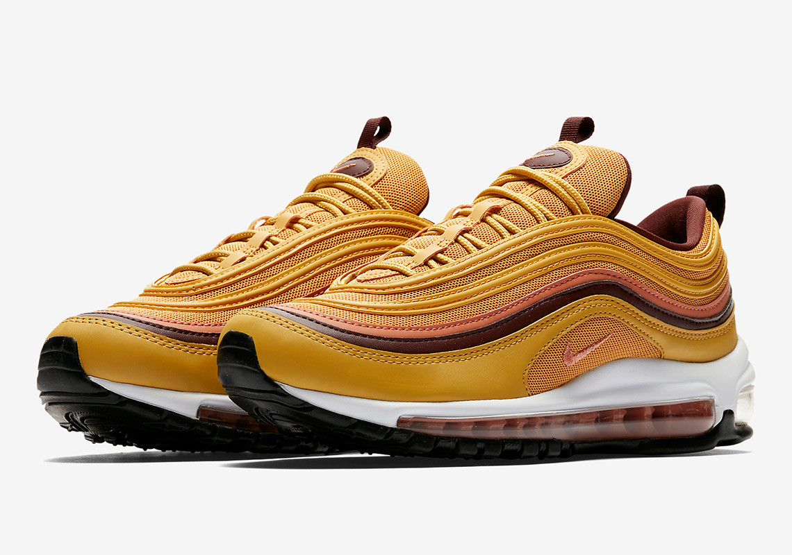info for 67309 d2133 The Swoosh Glows Up with the Nike Air Max 97 Wheat Gold ...