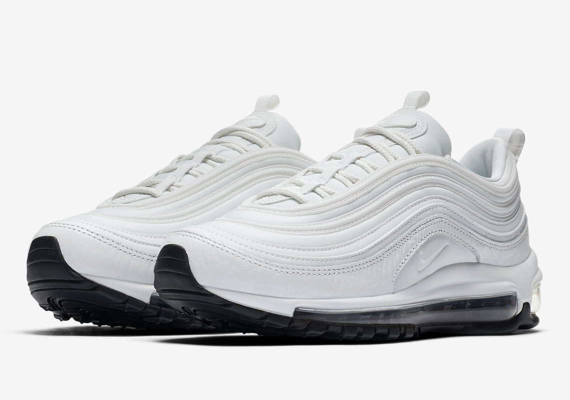 The Nike Air Max 97 Summit White Is