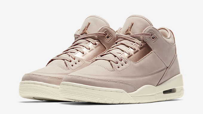 8ee5dc189d2 The Nike Air Jordan III SE Gets a Rosy Finish - The Drop Date