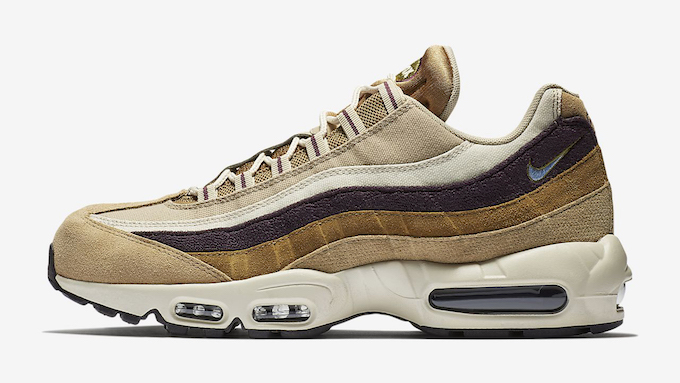 191e8e946b3c The NIKE AIR MAX 95 PREMIUM returns in a strong duo of colourways finished  in a premium suede covering.