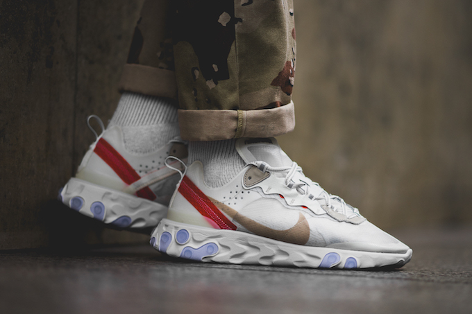 70a0355328a3 Nike React Element 87  On-Foot Shots by BSTN - The Drop Date