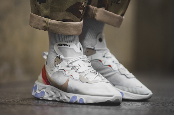 Nike React Element 87: On-Foot Shots by