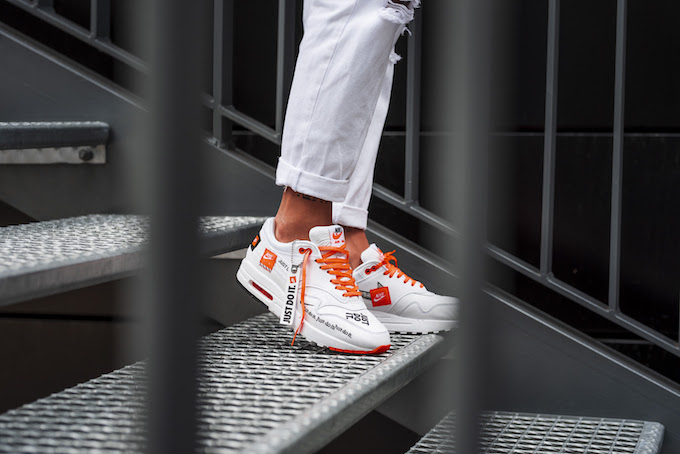 84a6e77f356d The NIKE WMNS AIR MAX 1 JUST DO IT is AVAILABLE NOW  follow the banner below  to see where you can pick up a pair today.