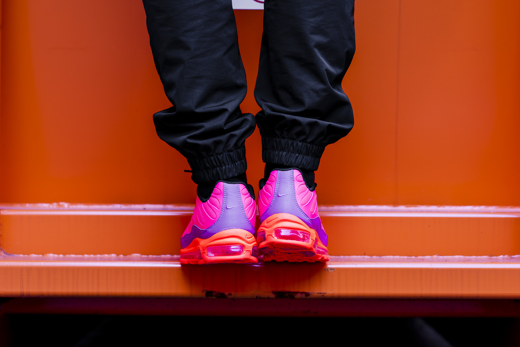 ba0d53ab11 Nike Air Max 97 Plus Racer Pink: On-Foot Shots by OVERKILL - The ...
