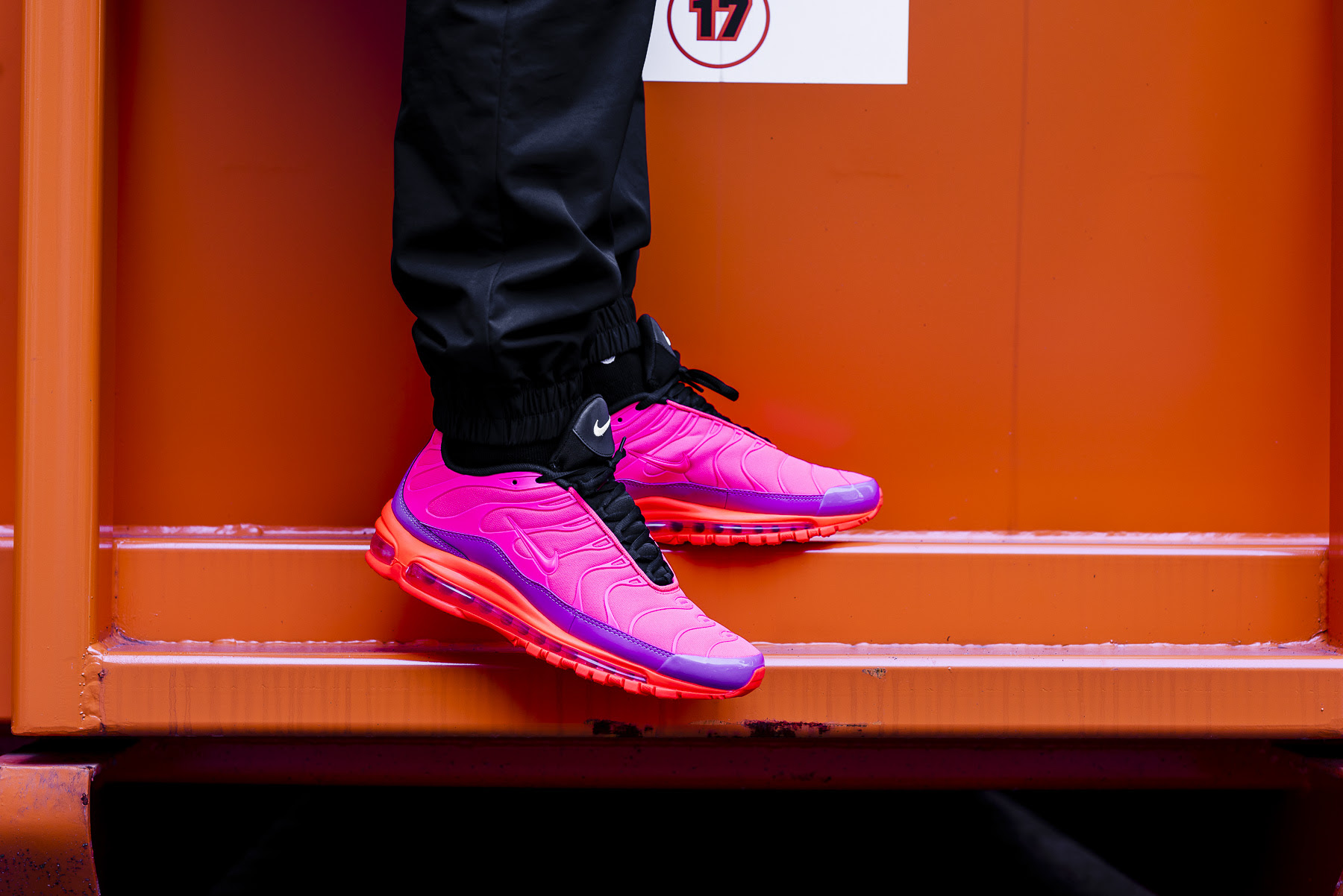 nike air max 97 plus racer pink