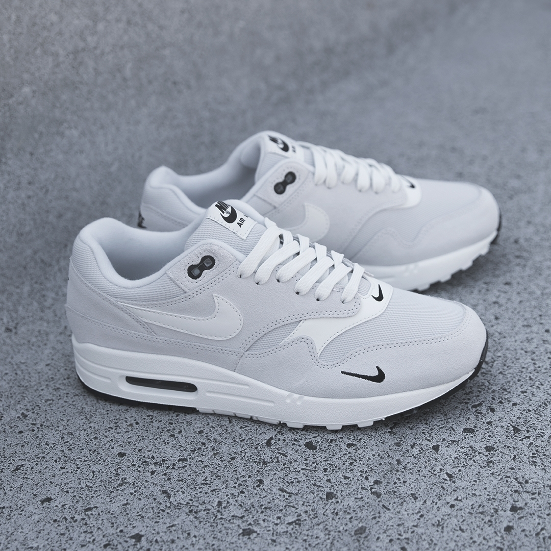new products 6f1a5 dbd06 Maximise Your Swoosh with the Nike Air Max 1 Premium Mini Swoosh. July 12th  ...