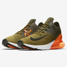 5a7b4c73e914 A Familiar Colour Treatment Decks out the Nike Air Max 270 Flyknit Olive