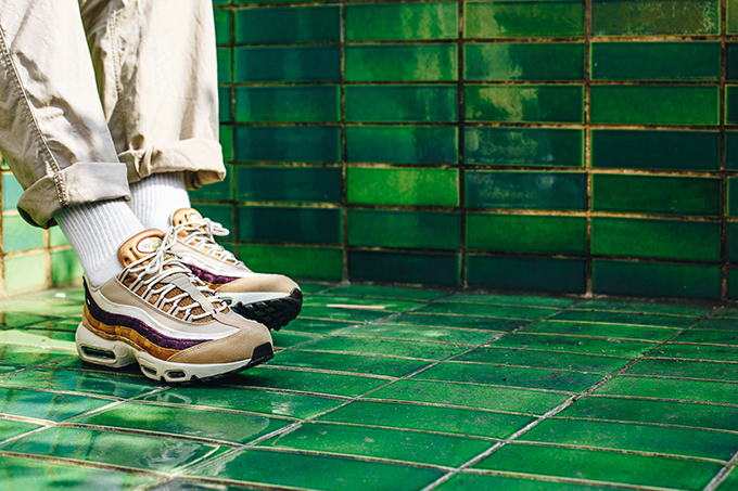 new concept ae4f1 d5316 Nike Air Max 95 Premium Desert/Camper Green/Muted Bronze: On ...