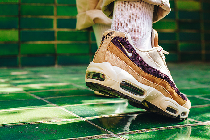 new concept 0f1ef 6bd6b Nike Air Max 95 Premium Desert/Camper Green/Muted Bronze: On ...