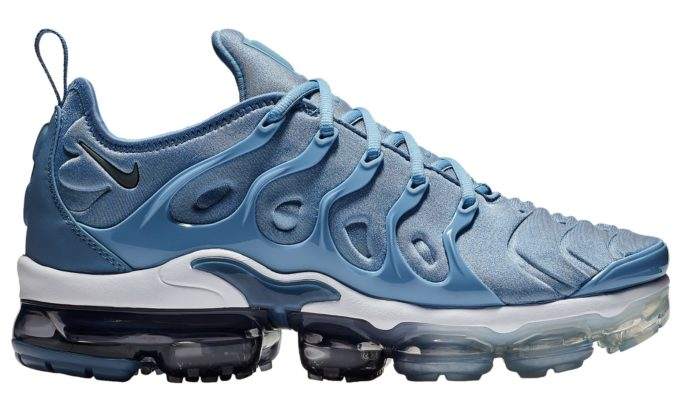 c7961c1b45 Nike heats up the summer months with the new NIKE AIR VAPORMAX PLUS WORK  BLUE.