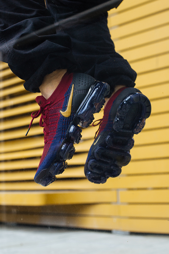 Nike Air Vapormax Flyknit 2 Team Red On Foot Shots The