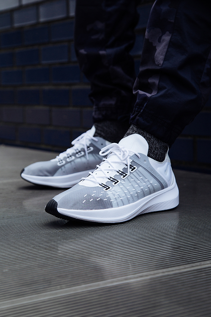 The NIKE EXP-14 WHITE AND WOLF GREY is AVAILABLE NOW  hit the banner below  to shop the current colourways at NIKE today. cd48d606b