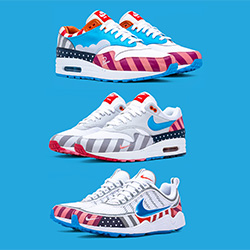 uk availability 9fdc3 5b377 The Nike x Parra Air Max 1 and Zoom Spiridon Collaboration ...